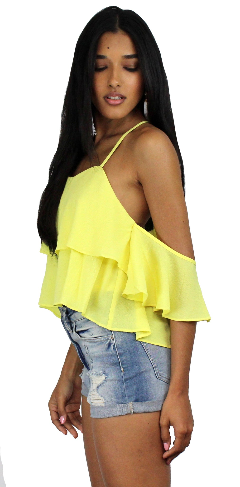 Sunshine Seeker Yellow Top