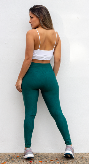 Go Figure Out in Jade Activewear Leggings