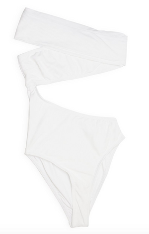 One Destination White One Piece Swimsuit