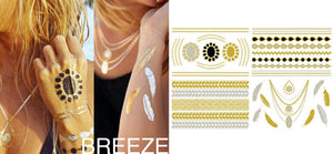 Gold Tattoos - Breeze