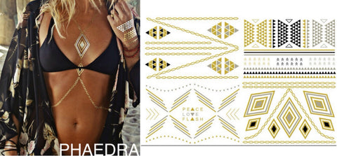 Gold Tattoos - Phaedra