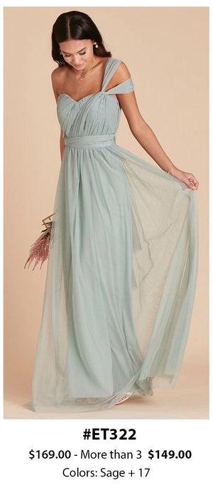 Mesh Multi-way Bridesmaid Dress