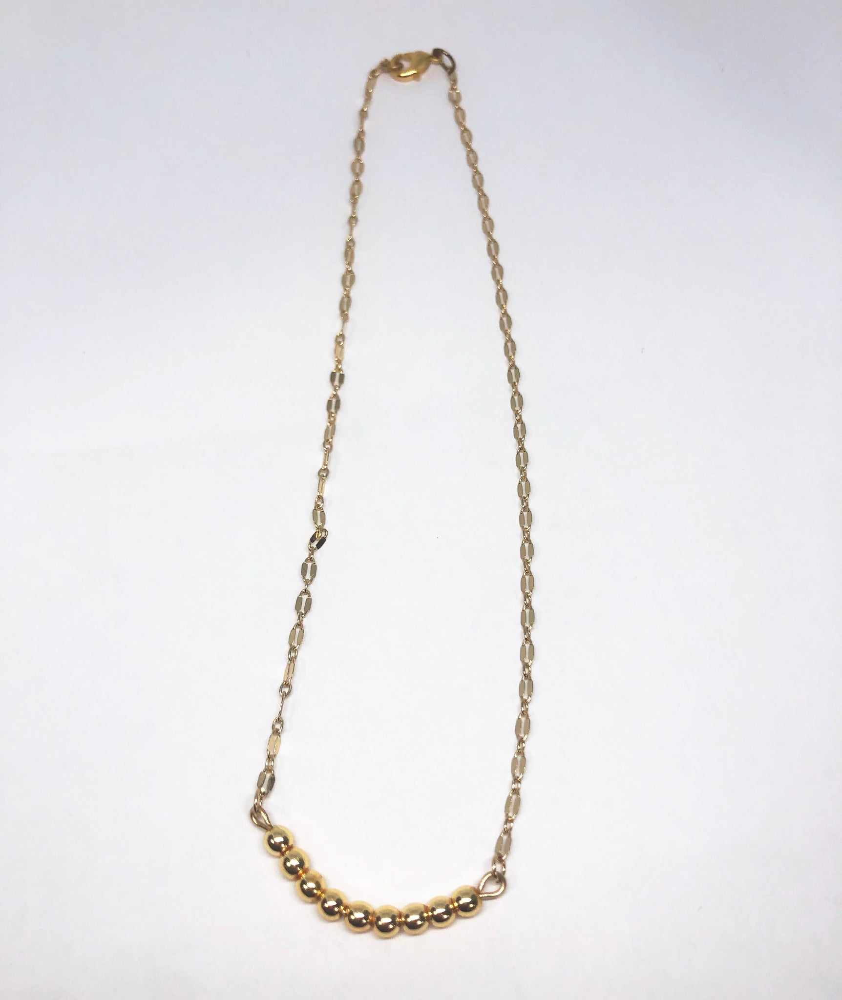 Simple Admiration Gold Necklace