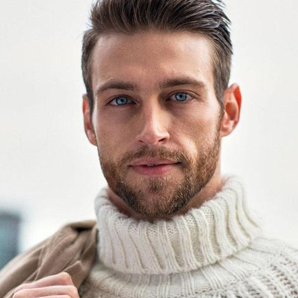 Natural Men's Candy Blue Eyes (12 months) contact lenses