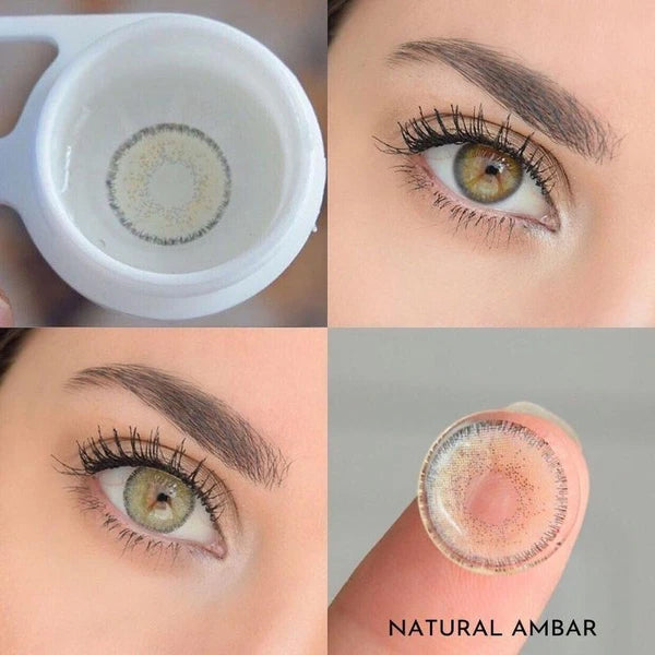 Natural Amber (12 Month) Contact Lenses