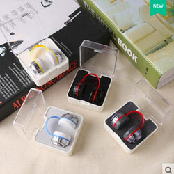 Multi-color headphone contact lens case and contact lens companion box