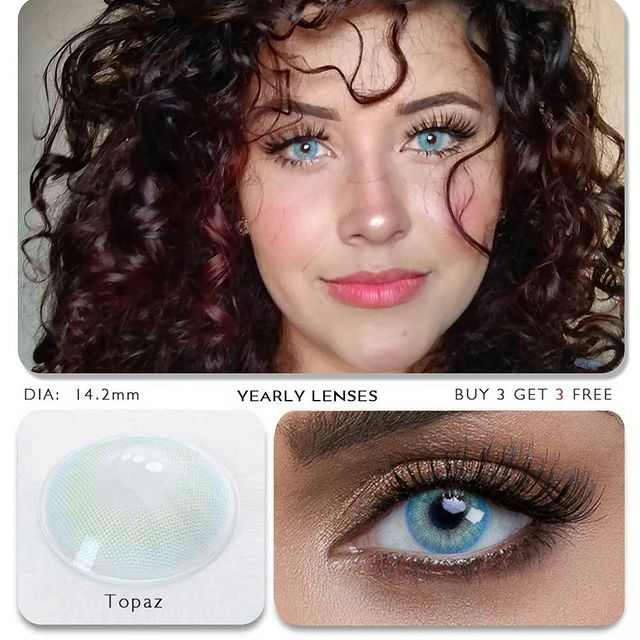 Topaz (12 Month) Contact Lenses