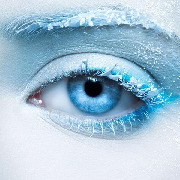 Ice crystal blue eyes (12 months) contact lenses