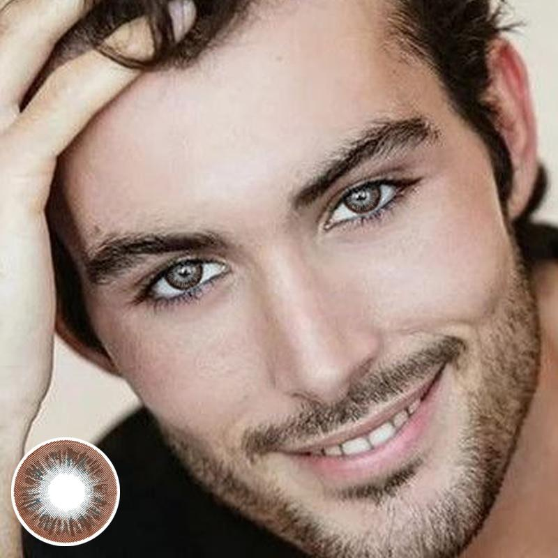 Men's Chocolate (12 Months) Contact Lenses