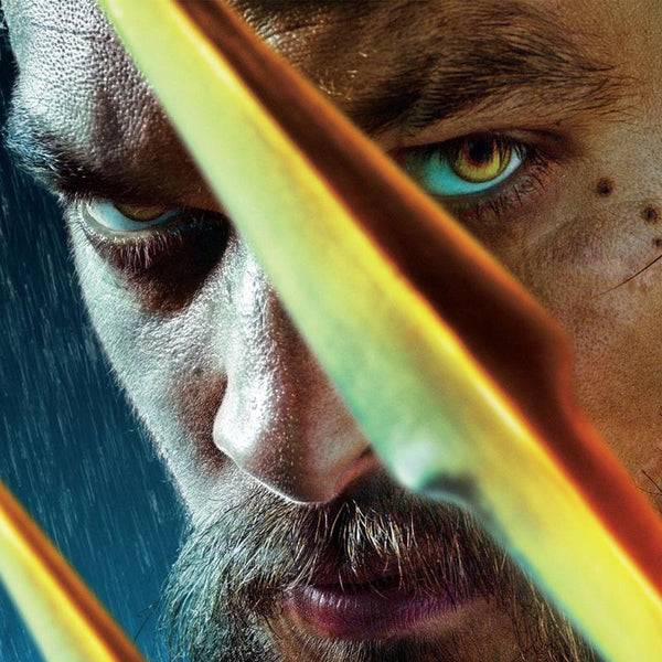 Neptune with bright yellow contact lenses (12 months) invisible eyes - ilabar