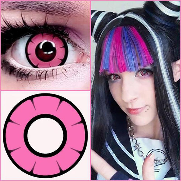 cosplay twilight pink (12 months) contact lenses