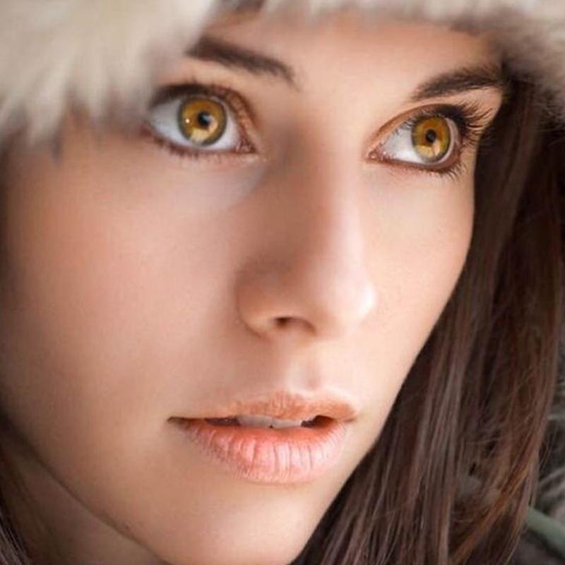 cosplay cat eye gold (12 months) contact lenses