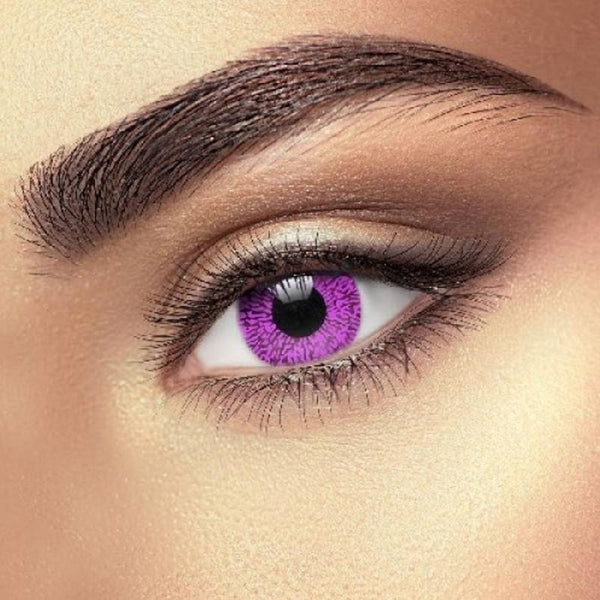 Rainbow series purple pink (12 months) contact lenses