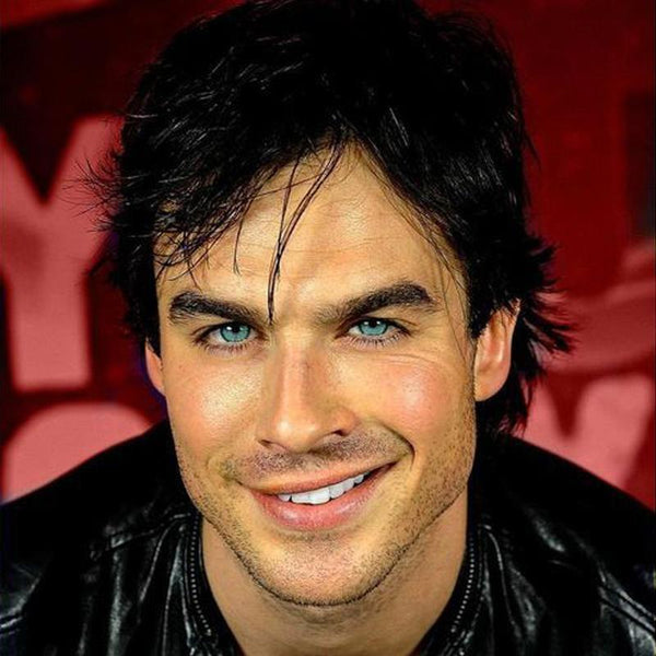 Men's crystal clear sea green (12 months) contact lenses