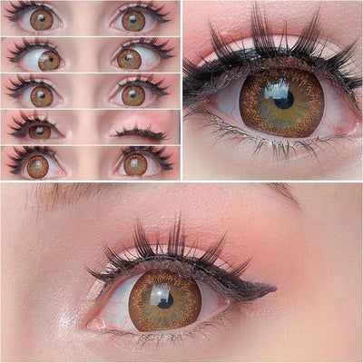 cosplay big hazel eyes (12 months) contact lenses