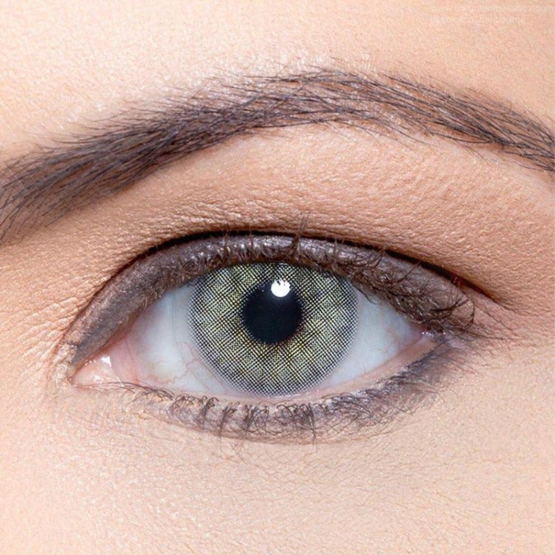 Light brown flower shape contact lenses - ilabar
