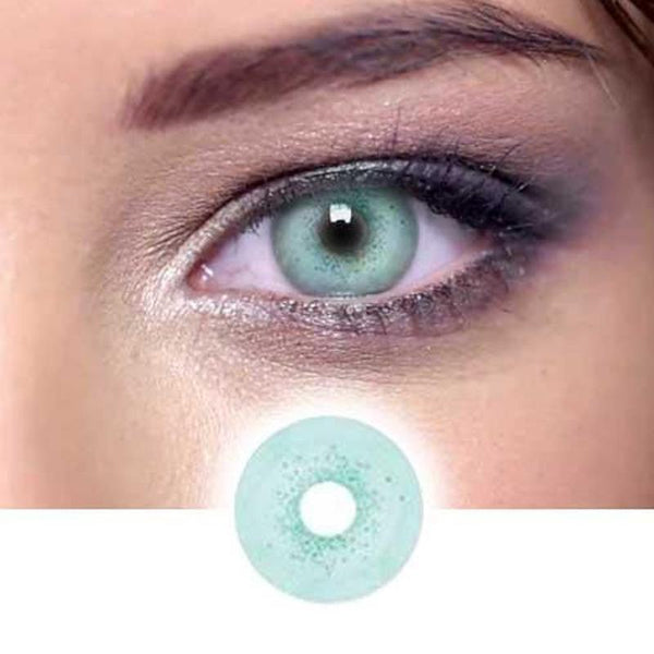 cosplay jade stone green (12 months) contact lenses