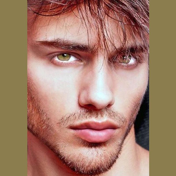 Men's Candy Yellow Eyes (12 months) contact lenses