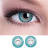 Natural gem blue green (12 months) contact lenses
