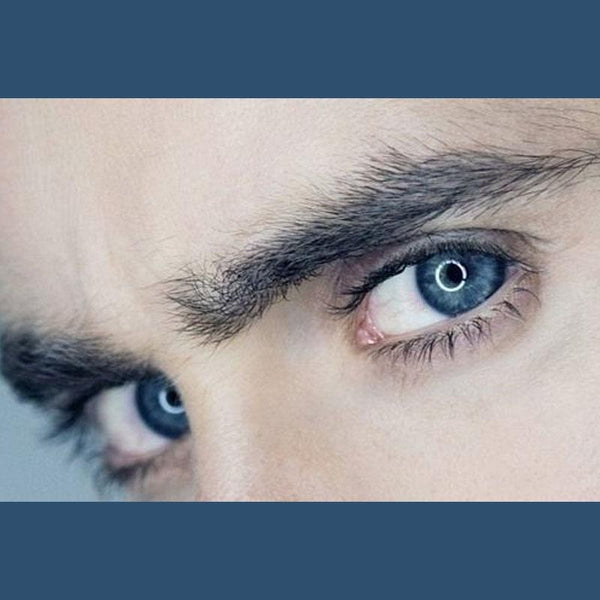 Men's deep blue eyes (12 months) contact lenses
