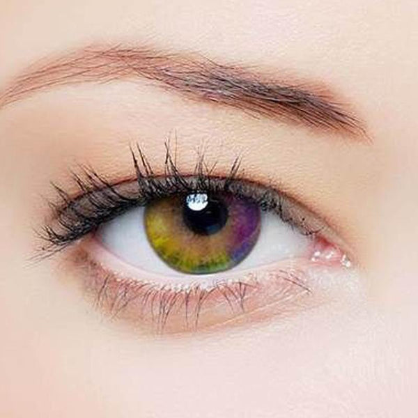 Rainbow mist (12 months) contact lenses