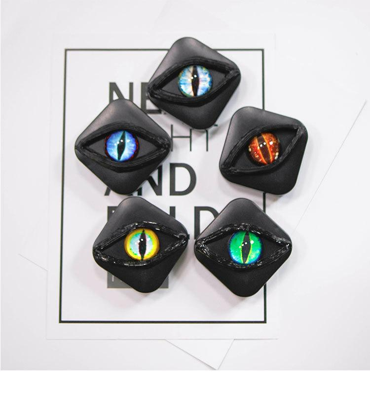 New Original Horror Eye Personality Contact Lens Lens Storage Box - ilabar