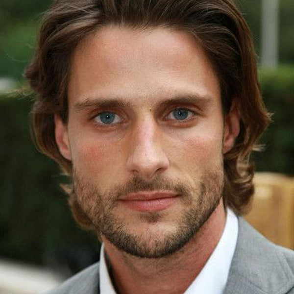 Men's Natural Deep Blue Eyes (12 Months) Contact Lenses