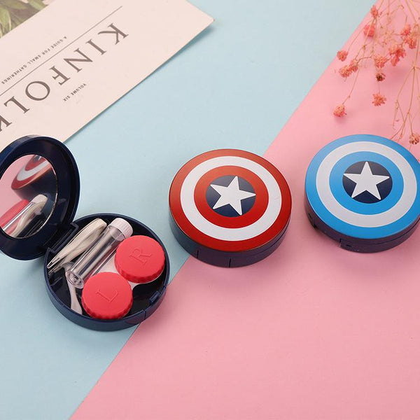 Contact lens case captain contact lens case - ilabar