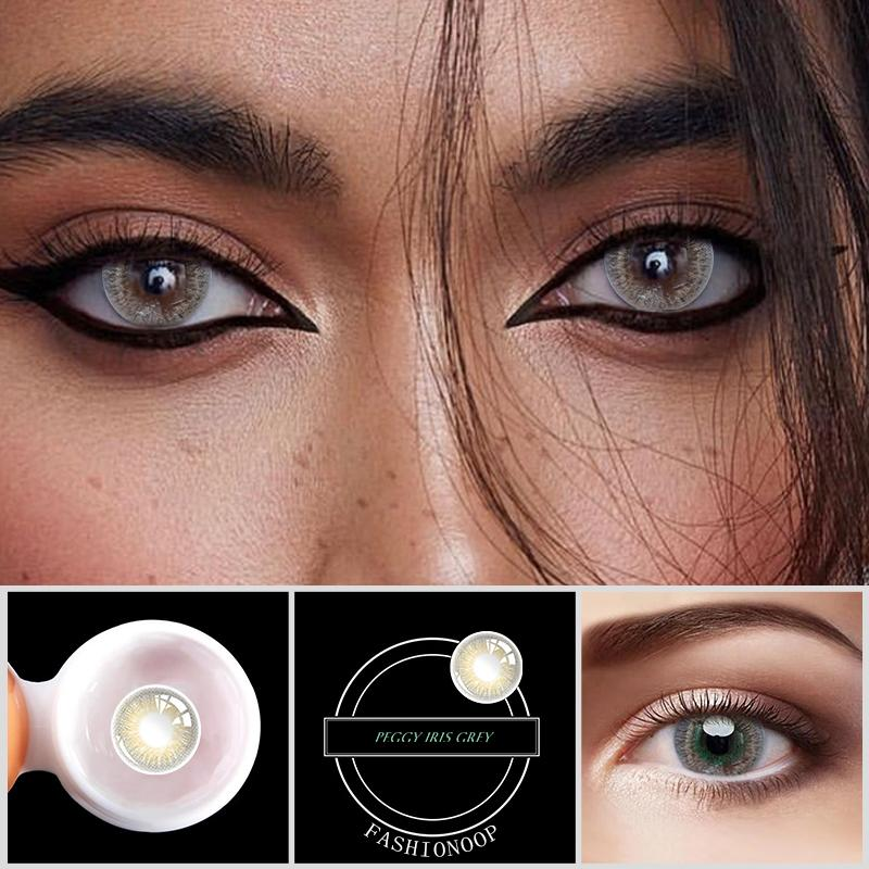 Eye Circle Lens New York Brown Colored Contact Lenses - ilabar