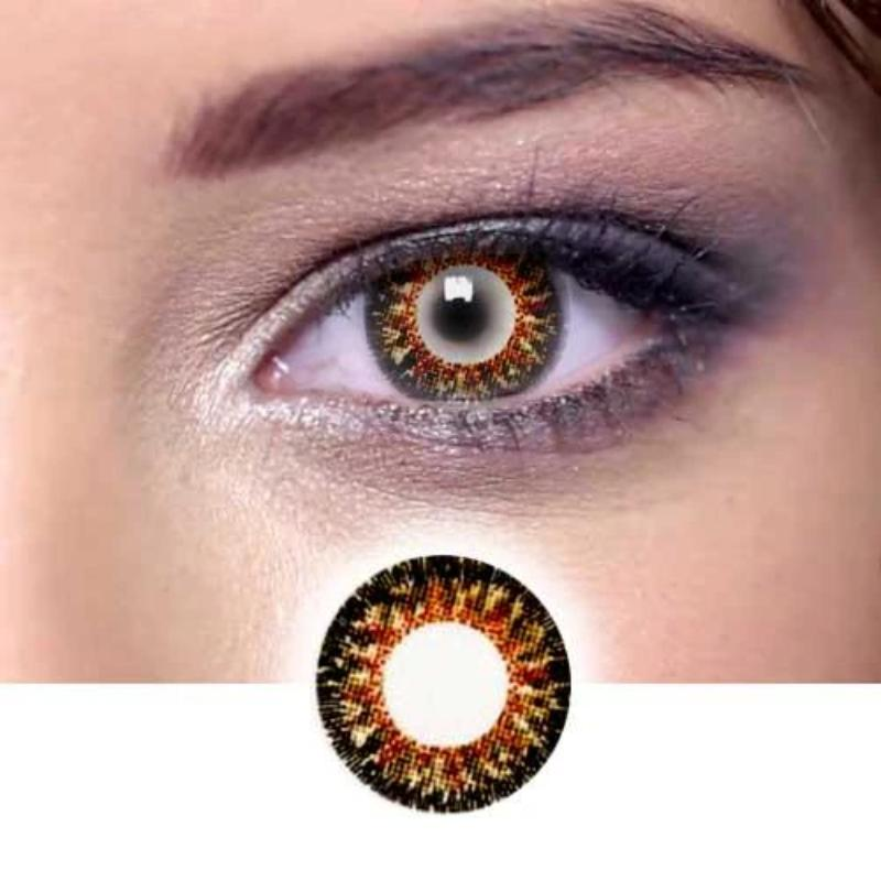 Black Cosplay Contact Lenses - ilabar