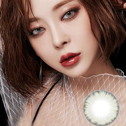 Natural ice crystal grey (12 months) contact lenses