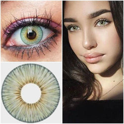 Macaron Yellow(12 months) contact lenses