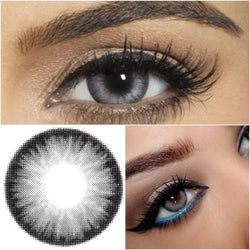 Flash Grey Contact Lens (12 Month) - ilabar
