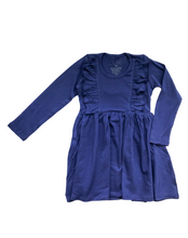 Load image into Gallery viewer, L/S Vayda Dress- Skipper Blue