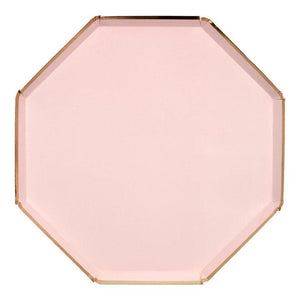 Dusty Pink Dinner Plates
