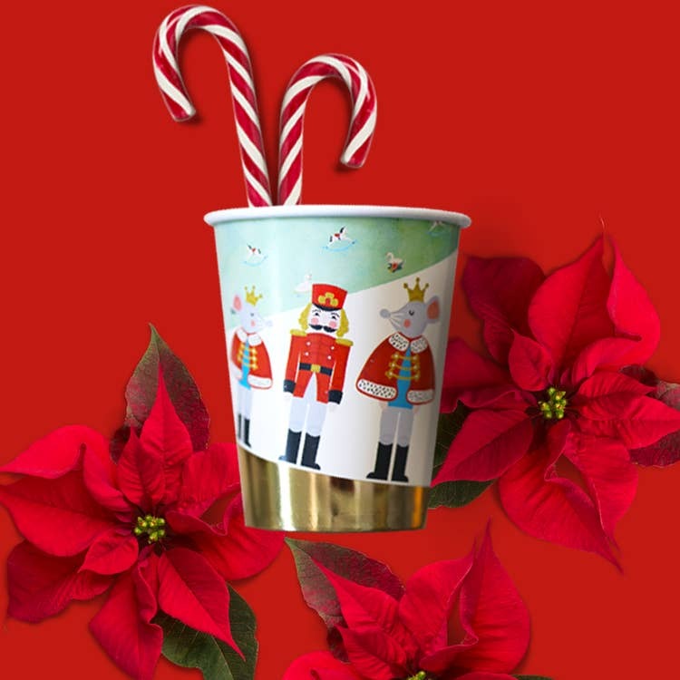 Nutcracker Holiday Party Cups