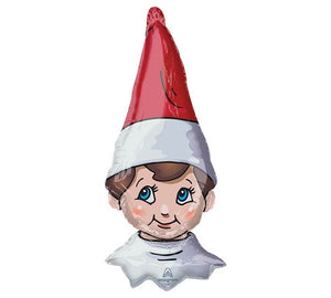 "38""PKG THE ELF ON THE SHELF HEAD BALLOON"