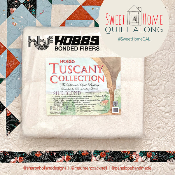 Sweet Home QAL Giveaway-Week 4