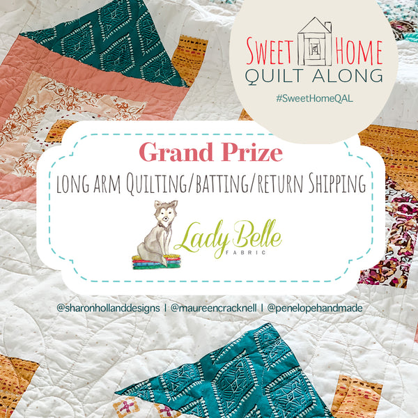 Sweet Home QAL Grand Finale Giveaway