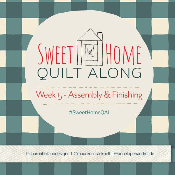 Sweet Home QAL: Week 5