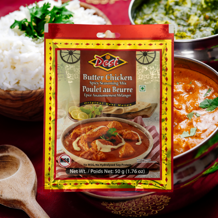 Butter Chicken is one of the most popular curries in Indian cuisine. Boneless chicken cubes are dunked in a rich and creamy tomato gravy and served along with roti (Indian bread) or flavoured rice.