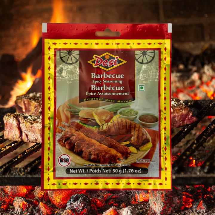 Anything barbecued is hard to resist and this seasoning is no different. This spicy mix goes perfectly with chicken, lamb, beef, minced meat or fish.