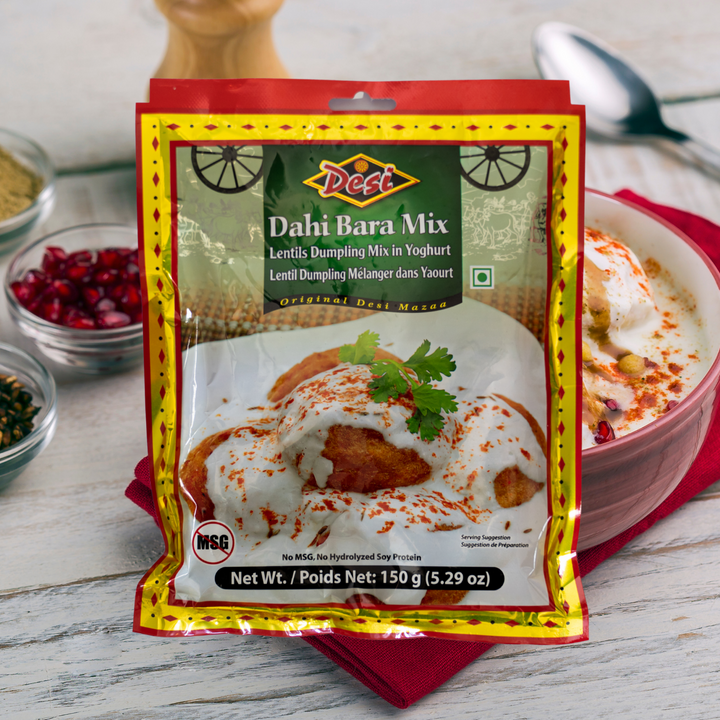 Dahi Bara, a popular Indian snack made of lentil dumplings in yogurt, is the perfect appetizer for any occasion. It is best enjoyed with Date-Tamarind Chutney.