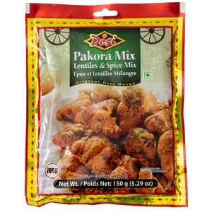 Pakora Mix. Lentiles and spice mix for a perfect bite size snack.