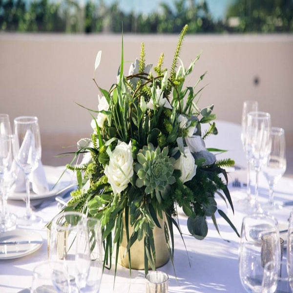Center Piece option Nuvo Weddings