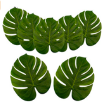 Large Silk Leaf (Reusable)