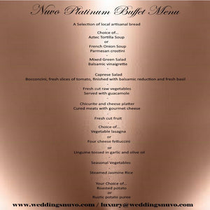 Nuvo Dining - PLATINUM - BUFFET