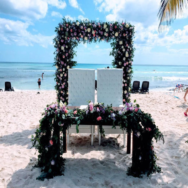 Flowers & Gazebo by Nuvo - Platinum Package.