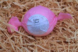 Cotton Cloud bath bomb