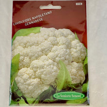 Load image into Gallery viewer, 44 - NEOPOLITAN CAULIFLOWER SEEDS
